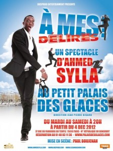 amed Sylla spectacle- a mes delires
