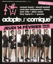 Spectacle Adopte un comique