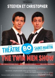 Twin men show-Steven et Christopher